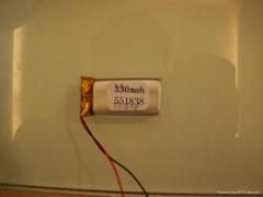 蓝牙眼镜专用环保软包锂电池