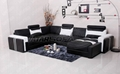 Chsian sectional leather sofa