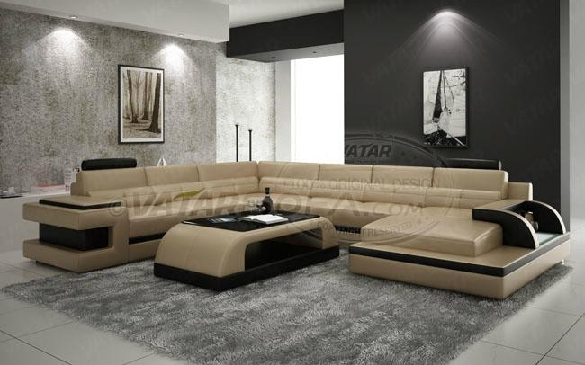 New design leather sofa h2222 vatar sofa china for New drawing room sofa designs