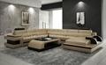 New design leather sofa