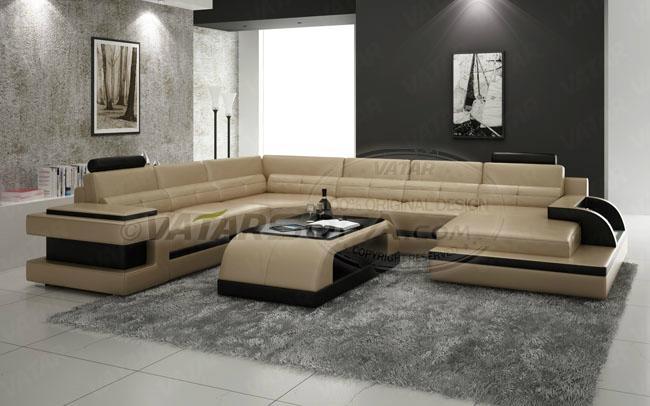 New design leather sofa h2222 vatar sofa china manufacturer living room furniture - New sofa design ...