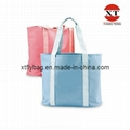 Canvas Leisure Tote Bag (FLY-FB009)