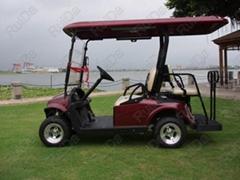 4-seat golf cart