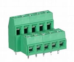 YB642-508螺钉式框式压线PCB接线端子