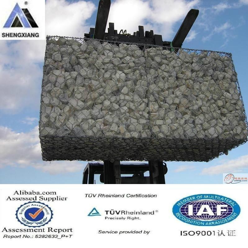 PVC+热镀锌石笼网 1