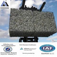 PVC+热镀锌石笼网