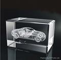 3 D Laser Engrave Crystal 2