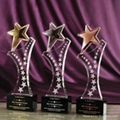 Crystal Trophy Awards For Gifts