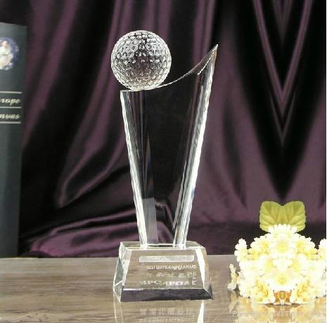 Crystal Awards Plaque 1
