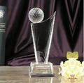 Crystal Awards Plaque