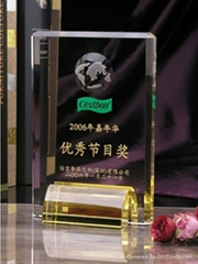 Crystal Awards Trophy
