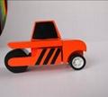 Road roller car wooden children toys