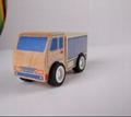 Road roller car wooden children toys gifts 5