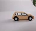 pull-back motor(Business car)wooden children toys 2