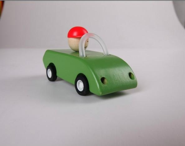 pull-back motor(open car) wooden toys gifts 1