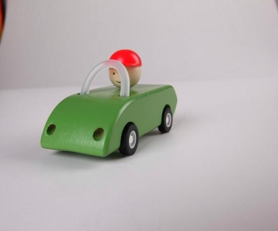 pull-back motor(open car) wooden toys gifts 2