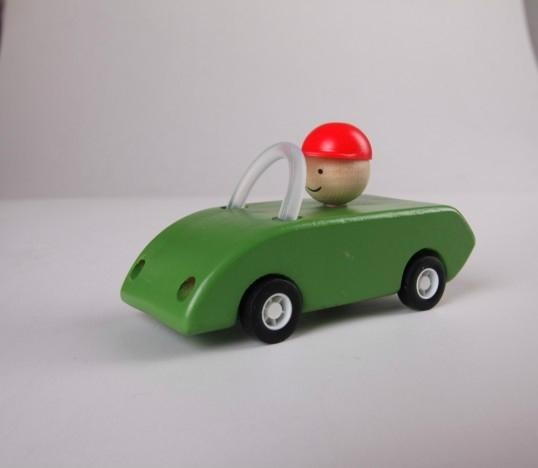 pull-back motor(open car) wooden toys gifts 3