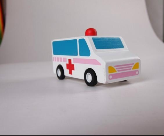 ... pull-back motor(ambulance) wooden children toys gifts 4 ...