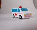 pull-back motor(ambulance) wooden children toys gifts 4