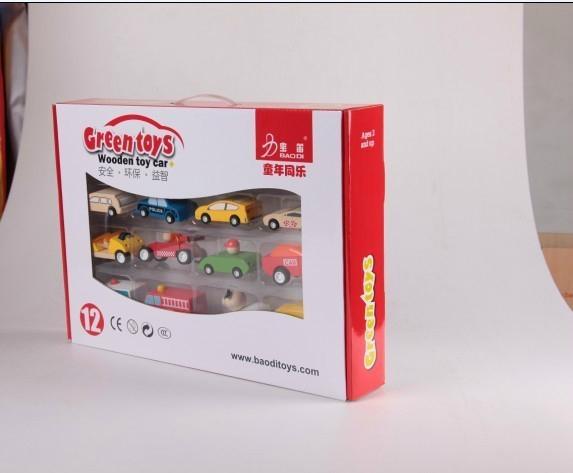 12pcs/set/color box wooden children toys gifts 1