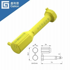 Container bolt seals