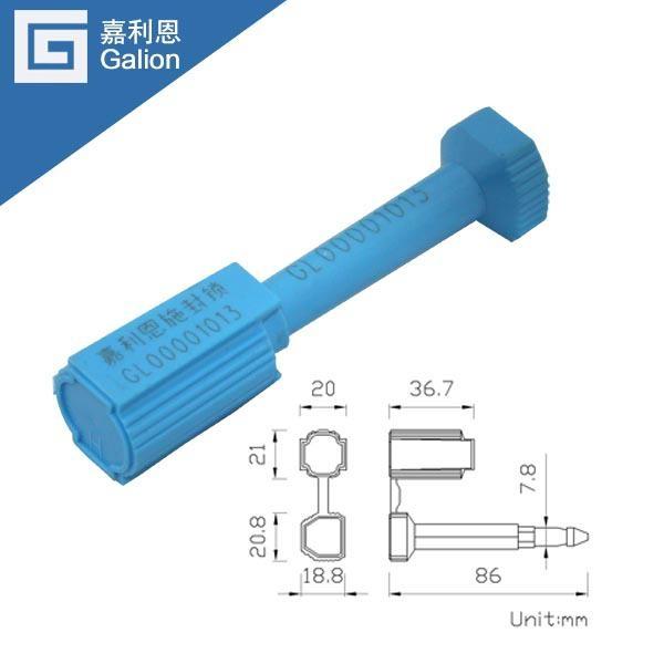 Container bolt seals 1