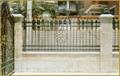 wrought iron fence 1