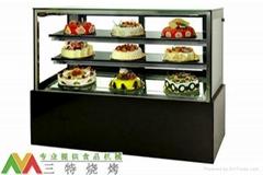 日式直角冷藏糕點展櫃