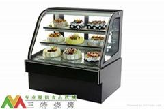 單弧度臥式冷藏糕點櫃