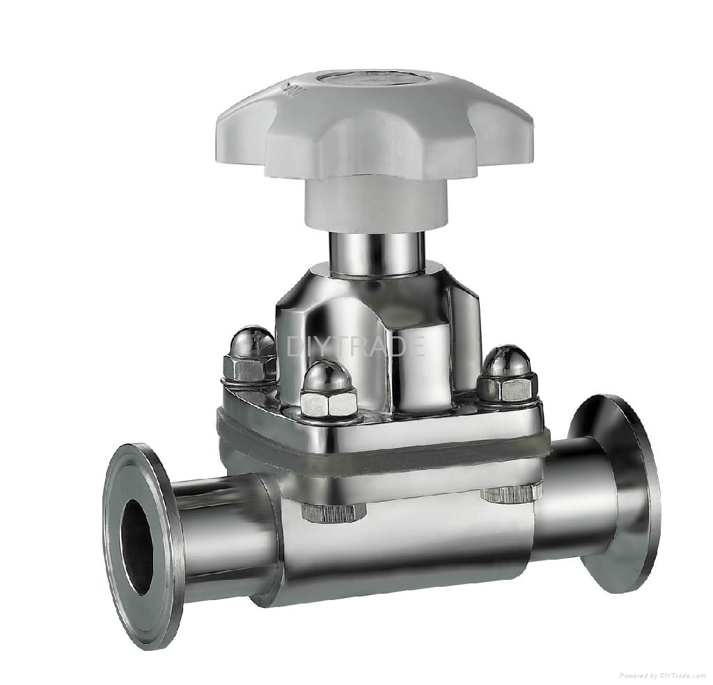 Stainless Steel Sanitary Diaphragm Valve Changnan China