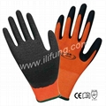 13G Polyester/Nylon Latex Glove