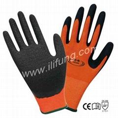 13G Polyester/Nylon Latex Glove