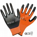 13G Agular Polyester Glove with Nitrile