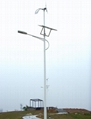 Solar& wind power street lamp