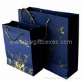 Blue Clothes Paper Bags,handbags,paper gift bag,handbags,shopping bags,paper bag