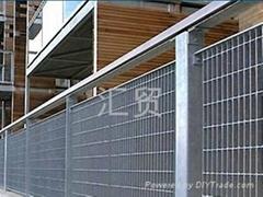 格栅板围栏