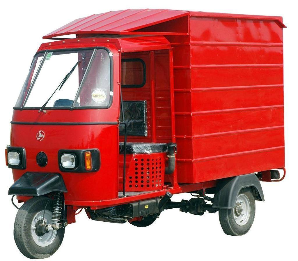 Three Wheeler Parts : Bajaj three wheeler delivery van petrol china