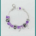 925 silver  with pandor beads bracelet