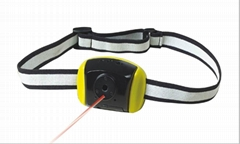 Laser Light action camera