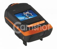 Rotatable Lens Full HD camera