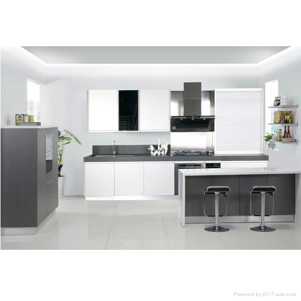 Modern kitchen furniture design ak01 ihoo china for Modern kitchen manufacturers