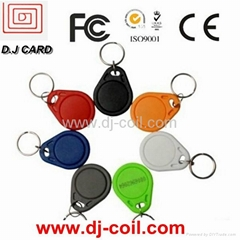 2013 Promotional PVC RFID key tag manufacuter in China