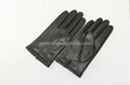 Classic men leather gloves