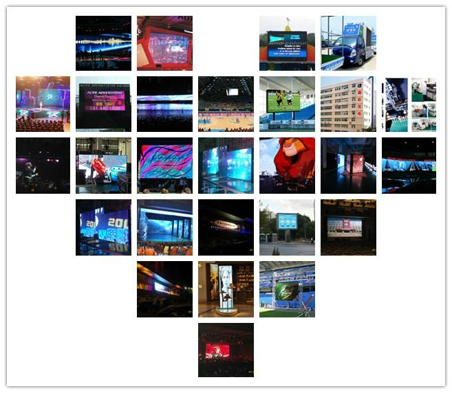 indoor full color rental LED display 5