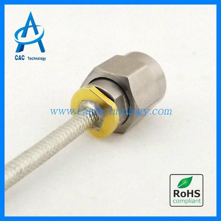 40ghz Rf Semi Flexible Coaxial Cable Assembly With 2 92mm