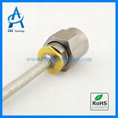 40GHz RF semi-flexible Coaxial Cable Assembly  with 2.92mm 2.4mm connector