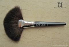 hot sell makeup fan powder brush