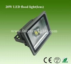 LED 透鏡氾光燈