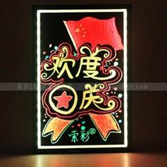 索彩新上市手写荧光板