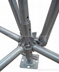 Self - Locking Style Multifunction Aluminum Alloy Ring Lock Scaffold For Outdoor